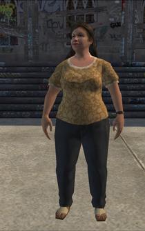 BigGeneric female - BarrioTrainyardClothingStore - character model in Saints Row