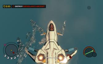 Convoy Decoy Gawalek A36 can crash into water