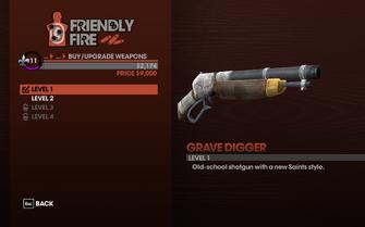 Grave Digger - Level 1 description