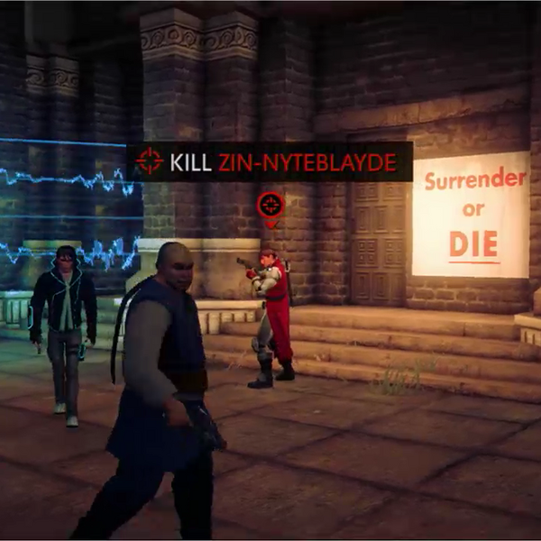 Nytefall objective kill zin-nyteblayde in Saints Row IV livestream