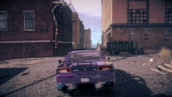 Torch - rear in Saints Row IV