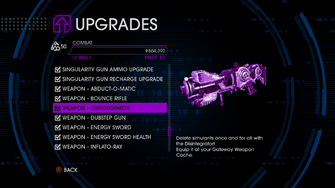 Upgrades menu in Saints Row IV - Page 5 of Combat