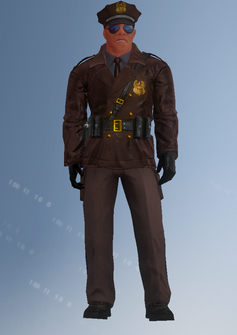 Cop - motorcycle - Mayweather - character model in Saints Row IV