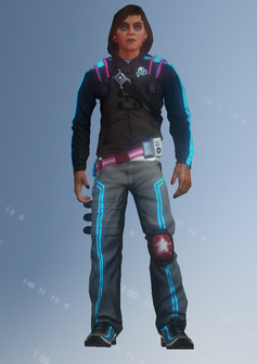 Deckers - Chester - character model in Saints Row IV
