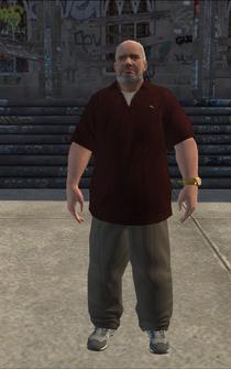 Theft - Morgan - character model in Saints Row