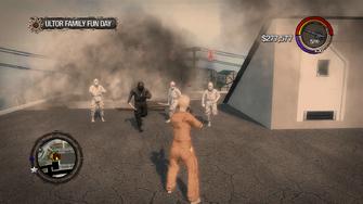 Ultor Family Fun Day - target - Ninjas attack