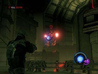 Grand Finale Part Four - Kill Zinyak objective