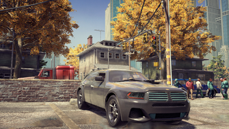 Hammer - front right in Saints Row The Third Remastered