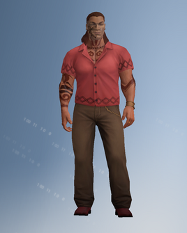Maero character model in Saints Row IV