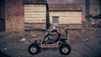 Mongoose - left in Saints Row IV