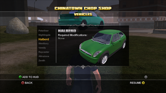 Saints Row Chop Shop - Chinatown - Halberd