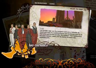 Saints Row promo website - Los Carnales Turf