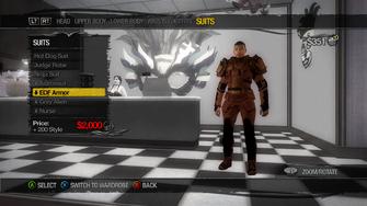 Suits - EDF Armor