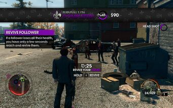 Survival 1 completed in Saints Row The Third