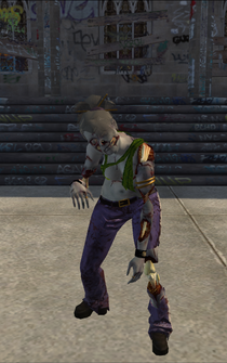Zombie Lin - character model in Saints Row