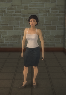 Business female - asian generic - character model in Saints Row 2