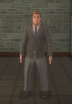 Business male - white with glasses - character model in Saints Row 2