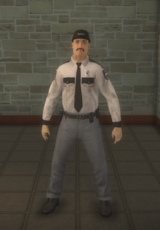 Cop - security asian male - character model in Saints Row 2