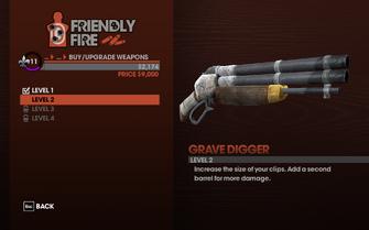 Grave Digger - Level 2 description
