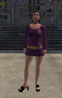 HO-01 - Asian Ho - character model in Saints Row