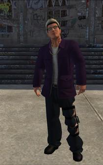 Johnny Gat - mecha - character model in Saints Row