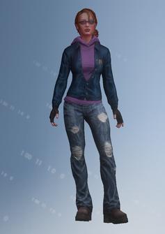 Kinzie - Kinziesr3 - character model in Saints Row IV