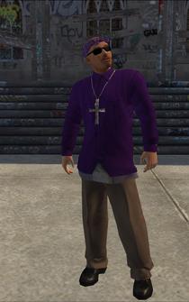 Saints male Killa-A - HispanicLongShirts - character model in Saints Row