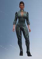 Shaundi - jumpsuit - character model in Saints Row IV