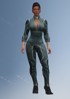 Shaundi - jumpsuit - character model in Saints Row IV