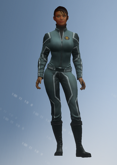 Asha - jumpsuit - character model in Saints Row IV