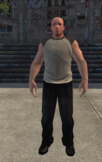 Bouncer - White - character model in Saints Row