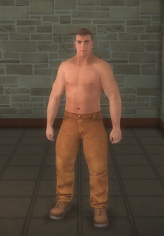 Bouncer - fuzz steroid - character model in Saints Row 2