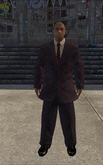 BusinessMan - Black - character model in Saints Row