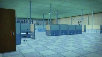 Developer offices - interior inside walkway entrance