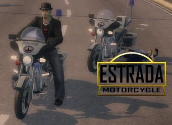 Estrada with logo in Saints Row 2