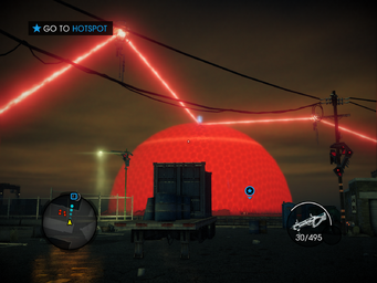 Go to Hotspot objective in Saints Row IV