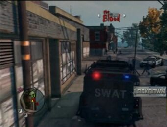 Lockdown - rear with logo in Saints Row The Third