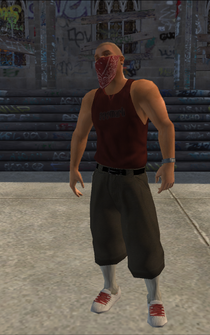 Los Carnales male Thug1-01 - hispanic - character model in Saints Row