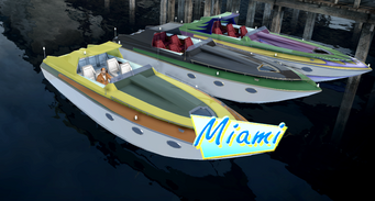 Miami - Bling variants - front right in Saints Row 2