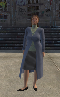MiddleAge female 02 - white - character model in Saints Row