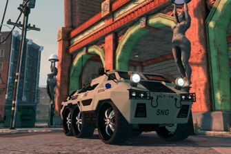 SNG Bear - front right in Saints Row The Third