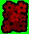 Saints Row 2 clothing logo - flowers