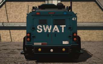 Saints Row IV variants - Lockdown SWAT - rear