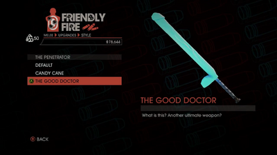 Weapon - Melee - Dildo Bat - The Penetrator - The Good Doctor