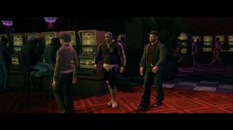 3 Count Beat Down - Angel De LaMuerte and Playa walking through the casino