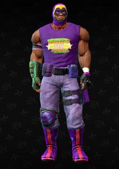 Gang Customization - Luchador 4 - Leroy - in Saints Row The Third