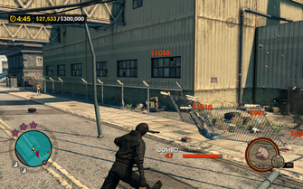 Mayhem - destroying fences in Saints Row The Third