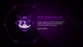 Prof. Genki's M.O.M. - harder instances unlocked