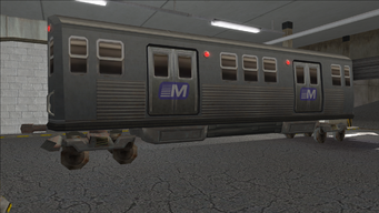 Saints Row variants - El Train - El Train Rear - rear right