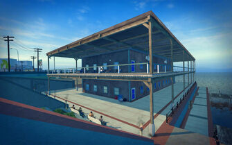 Centennial Beach in Saints Row 2 - building
